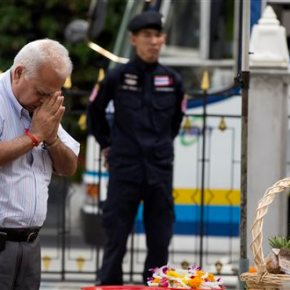 Thai police: Suspect acknowledges being near bomb scene