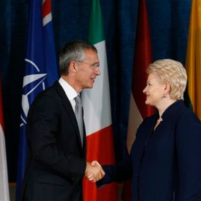 NATO opens military center in Lithuania amid Ukrainecrisis