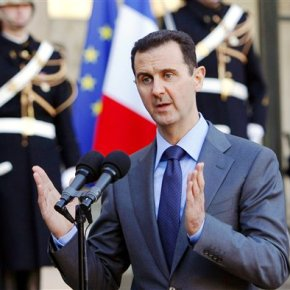 Syria's Assad welcomes Russian decision on sending troops