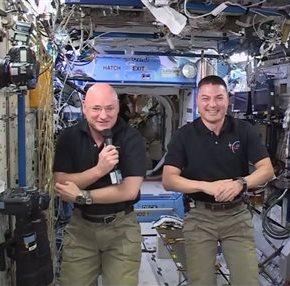 NASA astronaut hits halfway point of yearlongspaceflight