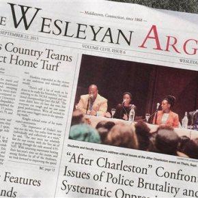 Wesleyan students push boycott of campusnewspaper