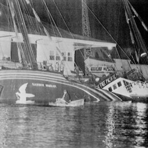 French agent apologizes for bombing Greenpeace boat in1985