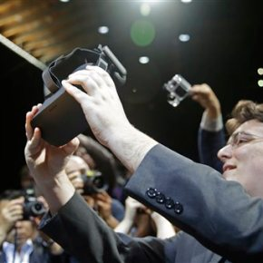 At a virtual reality expo, VR comes in manyforms