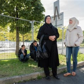 New arrivals adjusting to life in Europe