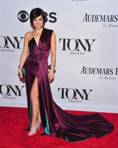 "FILE - In this June 9, 2013, file photo, Krysta Rodriguez poses for a photo at the 67th Annual Tony Awards in New York. While Rodriguez was rehearsing during the summer of 2015 for the return of the Broadway musical, ""Spring Awakening,"" she was also undergoing radiation treatment for breast cancer. (Photo by Charles Sykes/Invision/AP, File)"