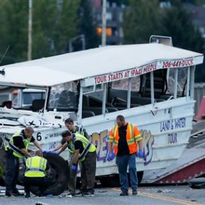NTSB: Duck boat in Seattle crash didn't have recommendedfix