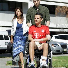 Irish student hurt in balcony collapse recalls 'bigrumble'