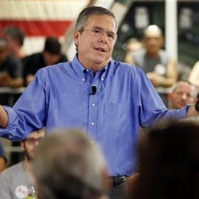 Bush: Trump 'too pessimistic,' will lead GOP to 2016defeat