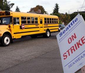 Seattle teacher strike keeps kids home on 1st day ofschool