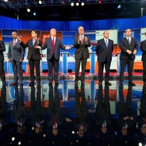 Shifting debate strategies, GOP hopefuls to take onTrump