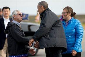 On Arctic voyage, Obama banks on power of hiscelebrity