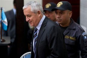 Judge orders Guatemalan ex-president jailed on fraud charge