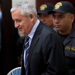 Judge orders Guatemalan ex-president jailed on fraudcharge