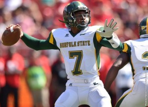 Rutgers pulls away from Spartans in 2nd half, tops NSU in season opener (photo courtesy of NSUSpartans.com