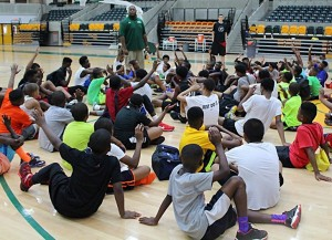 NSU Basketball to Host Spartan Nation Camp (photo courtesy of NSUSpartans.com)