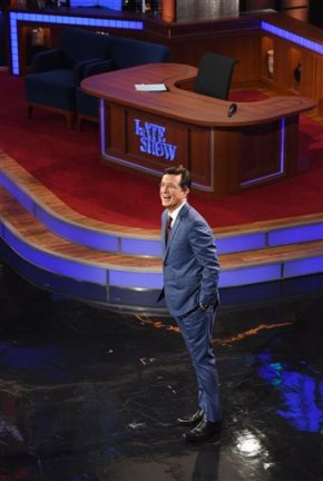 Stephen Colbert debuts on 'The Late Show'