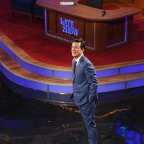 Stephen Colbert debuts on 'The LateShow'