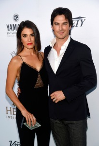 "FILE - In this Sept. 18, 2015 file photo, actress Nikki Reed and her husband, actor Ian Somerhalder, pose at the 4th Annual Beyond Hunger: ""A Place at the Table"" gala in Beverly Hills, Calif. Reed stars in the Fox series ""Sleepy Hollow,"" premiering its third season on Oct. 1. (Photo by Chris Pizzello/Invision/AP, File)"
