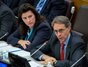 At UN event, speakers call for end to Syria barrel bombs
