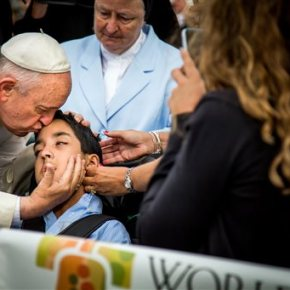 Family of boy blessed by pope gets nearly $100k insupport