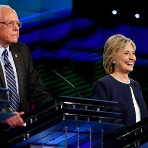 Debate day-after: Sanders raises cash, Clinton camppleased