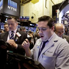 Financial stocks surged on Thursday
