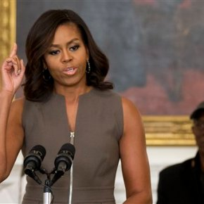 Michelle Obama: Failure and rejection are a part of success