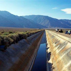 LA Aqueduct flows after dam built for drought isdismantled