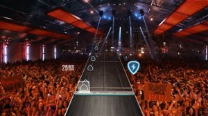 """This video game image released by Activision shows a scene from """"Guitar Hero Live."""" (Activision via AP)"""