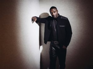 In this Wednesday, Oct. 21, 2015 photo, Akon poses for a portrait in Los Angeles. When Akon releases his first albums in seven years, he'll largely bypass the music labels and ask fans to download an app to their phone for exclusive access. They can stream songs for free as long as they put up with ads and can earn credit by interacting more with the app, which they can use to buy digital goods and unlock more songs. (Photo by Casey Curry/Invision/AP)