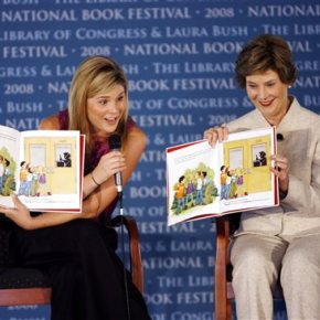 Laura Bush and daughter Jenna co-writing children's book
