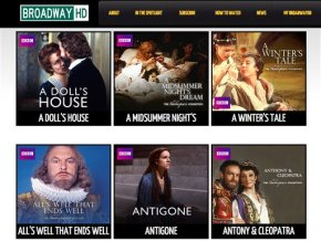 New online site BroadwayHD offers to stream livetheater