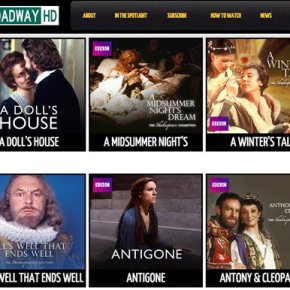 New online site BroadwayHD offers to stream live theater