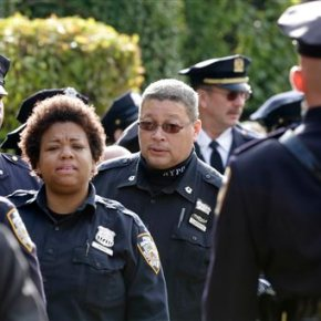 Thousands expected at funeral for NY policeman slain onduty