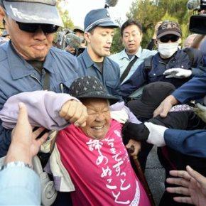 Japan overrides protests, resumes work on US basetransfer