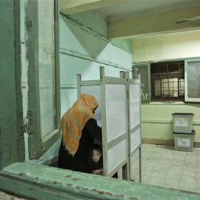 Egypt attempts to boost election turnout with a half-dayoff