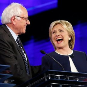 Clinton, Sanders clash on guns, economy, foreignpolicy