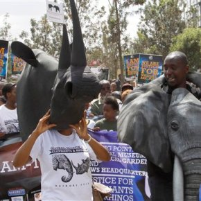 Conservationists rally in South Africa, othercountries