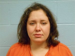 This photo provided by the Stillwater Police Department on Saturday, Oct. 24, 2015 shows Adacia Chambers. Police said Chambers plowed her car into a crowd of spectators Saturday during the Oklahoma State University homecoming parade. (Stillwater Police Department via AP)