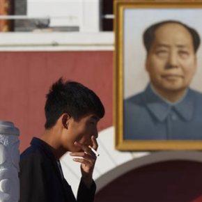 Studies say 1/3 of young men in China to die fromsmoking