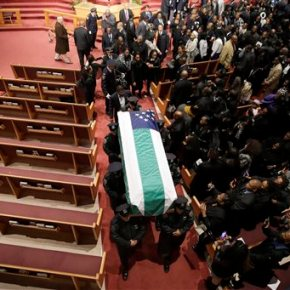 Funeral of slain New York City officer draws thousands