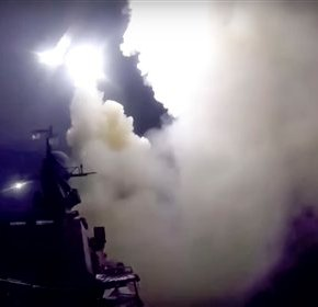 Russia fires missiles as Syrian troops launch ground push