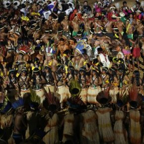 World Indigenous Games get off to colorful, if rocky,start