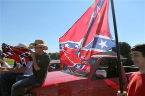 Students told to change out of clothes with Confederate flag