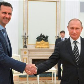 Syria's Assad bolstered with visit to ally in Moscow