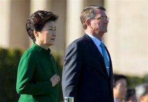 SKorean leader to meet Obama, walks fine diplomaticline