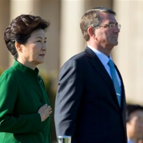 SKorean leader to meet Obama, walks fine diplomatic line