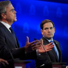GOP debate takeaways: Rubio-Bush rumble, Trump largelyquiet