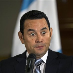 TV comic Jimmy Morales wins Guatemala presidentialrunoff