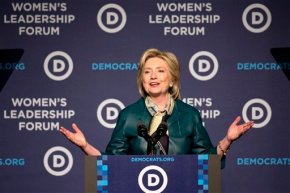 Clinton revels in signs that Dems are coalescing aroundher